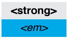 Structured HTML