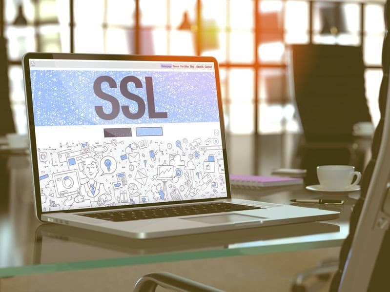 Ensure a secure data connection using SSL